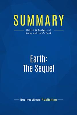 Summary  Earth  The Sequel PDF