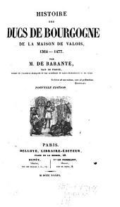 Histoire des ducs de Bourgogne de la maison de Valois, 1364-1477: Volume11