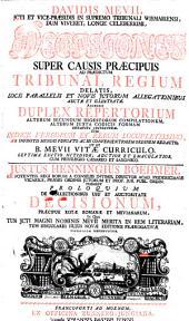 Proloquium de collectionibus, usu et auctoritate decisionum, praecipue Rotae Romanae et Mevianarum: Volume 1