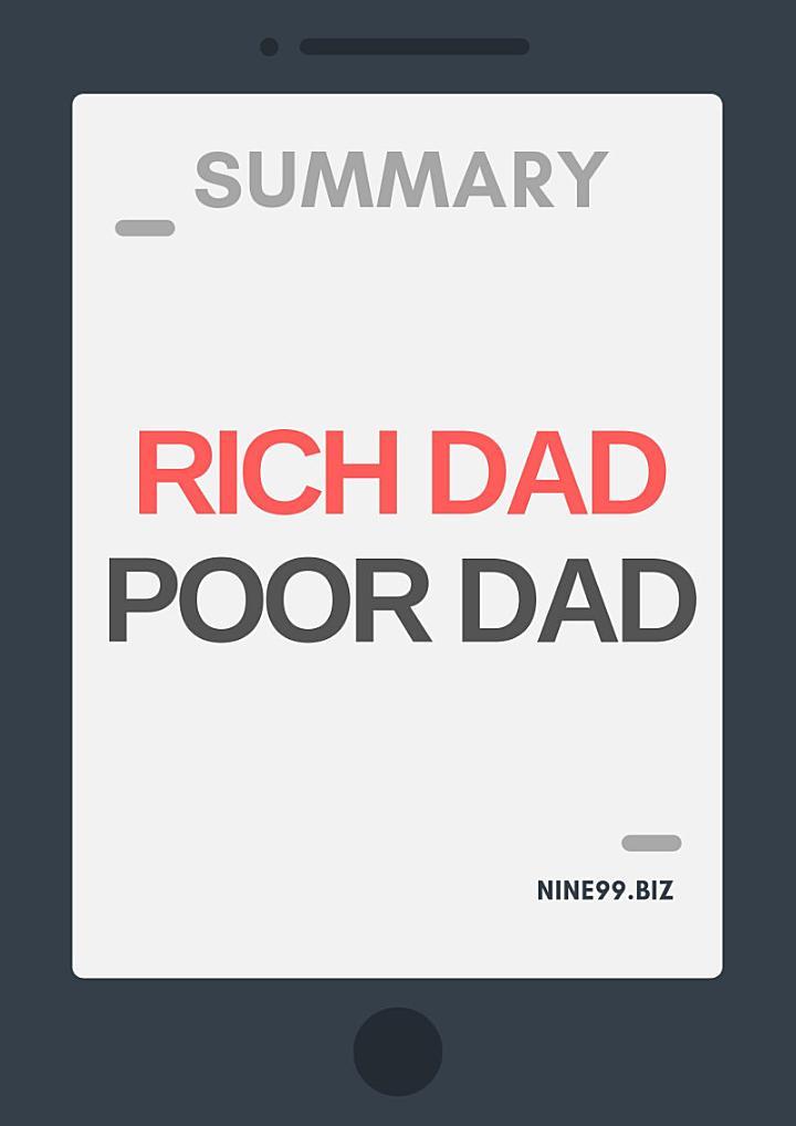 Summary: Rich Dad Poor Dad