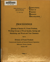 Committees on Spiral Grain and Heartwood Formation