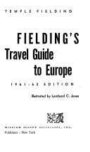 Fielding s Travel Guide to Europe PDF