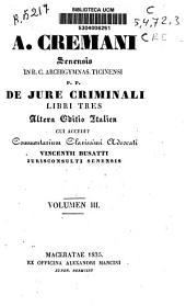 De jure criminali: Libri Tres, Volume 2