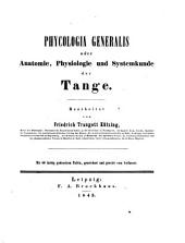 Phycologia generalis: oder, Anatomie, physiologie und systemkunde der tange, Band 1