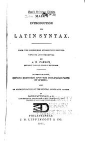 Introduction to Latin Syntax
