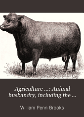 Animal husbandry, including the breeds of live stock, the general principles of breeding, feeding animals; including discussion of ensilage, dairy management on the farm and poultry farming
