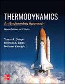 THERMODYNAMICS  AN ENGINEERING APPROACH  SI PDF