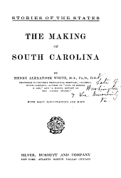 The Making of South Carolina