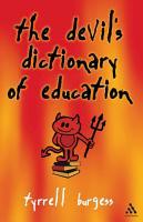 Devil s Dictionary of Education PDF