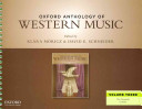 Oxford Anthology Of Western Music Book PDF