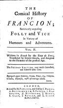 The Comical History of Francion