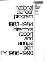 Director s Report and Annual Plan for FY       National Cancer Program PDF