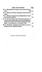 Histoire critique et militaire des guerres de la Révolution: rédigée sur de nouveaux documens, et augm. dúngrand nombre de cartess et de plans, Volumes3à4