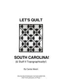Let's Quilt Our South Carolina Town