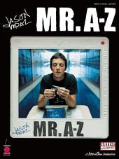 Jason Mraz - Mr. A-Z (Songbook)
