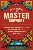 The Secrets of Master Brewers PDF