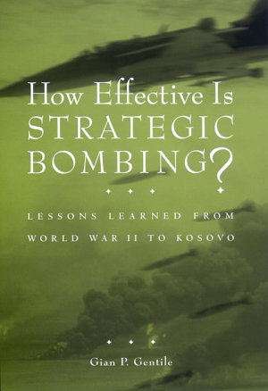 How Effective is Strategic Bombing  PDF