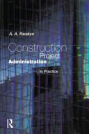 Construction Project Administration in Practice PDF