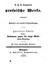 Prosaische Werke: in dreißig Bänden, mit ein und dreißig Stahlstichen. Talismane gegen die lange Weile ; Sammlung 2. 12