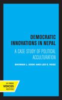 Democratic Innovations in Nepal PDF