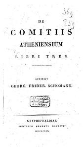 De comitiis Atheniensium libri tres