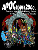 APOCalypse 2500 50 Character Record Sheets