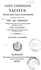 C. Cornelii Taciti opera: ex recensione Joh. Augusti Ernesti, Volume2