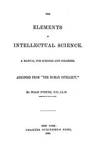 The Elements of Intellectual Science PDF