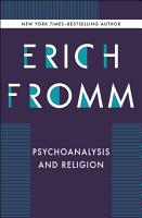 Psychoanalysis and Religion PDF