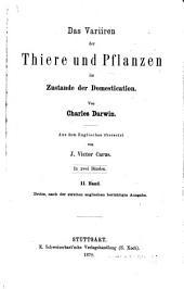 Ch. Darwin's Gesammelte Werke: Band 4