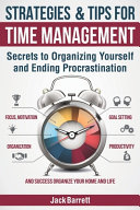 Strategies and Tips for Time Management Book