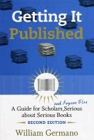 Getting It Published  2nd Edition PDF