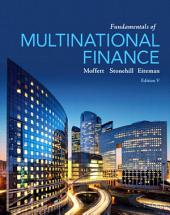 Fundamentals of Multinational Finance: Edition 5