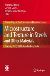 Microstructure and Texture in Steels: and Other Materials