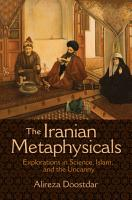 The Iranian Metaphysicals PDF