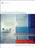 Professional Practice for Interior Designers PDF