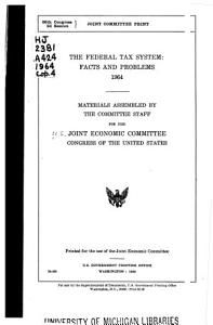 The Federal Tax System PDF