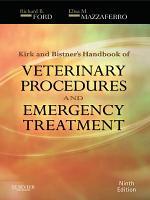 Kirk   Bistner s Handbook of Veterinary Procedures and Emergency Treatment   E Book PDF
