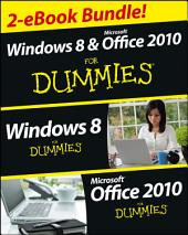Windows 8 & Office 2010 For Dummies eBook Set