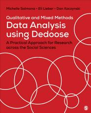 Qualitative and Mixed Methods Data Analysis Using Dedoose PDF