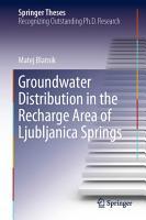 Groundwater Distribution in the Recharge Area of Ljubljanica Springs PDF