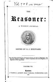 The Reasoner: Volumes 7-8
