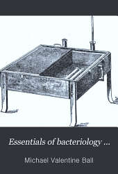 Essentials of bacteriology ...