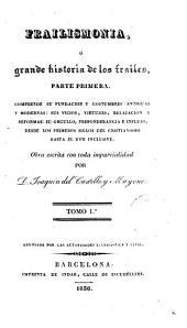 Frailismonia, o grande histori a de los frailes... obra escrita con toda imparcialidad