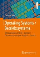 Operating Systems   Betriebssysteme PDF