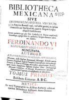 Bibliotheca Mexicana sive Eruditorum Historia virorum PDF