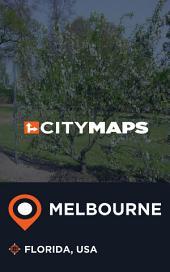 City Maps Melbourne Florida, USA