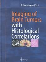 Imaging of Brain Tumors with Histological Correlations PDF