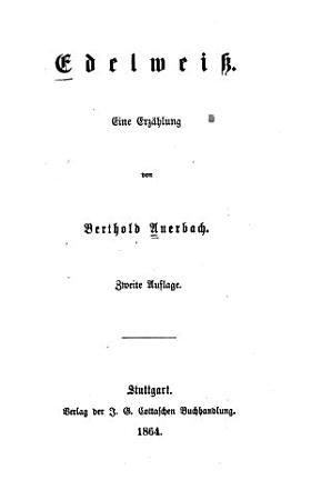 Edelwei   PDF