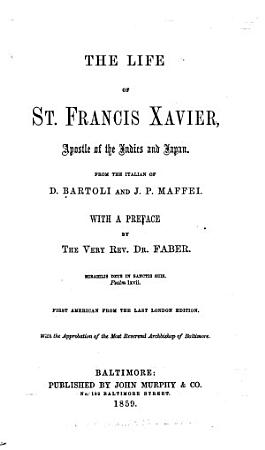 The Life of St  Francis Xavier PDF